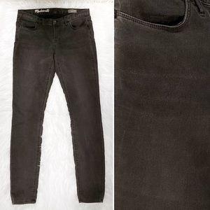 Madewell Gray Legging Skinny Jeans EUC